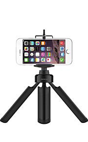 """rocken universele aluminiumlegering mini portabletripod met ¼ """"schroef voor GoPro camera iphone android smartphones"""
