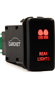 carchet 12v duwen achterlichten led blauw switch toyota prado 150 landcruiser 200 rav4