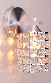 Modern Style Simplicity Wall Lights,K9 Crystal Shade Living Room Bedroom Hallway light Fixture