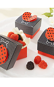 """Cute As A Bug"" Ladybug Favor Box"