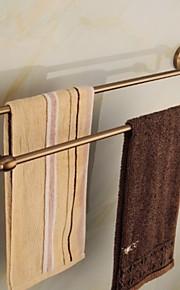 Barre porte-serviette,Contemporain Alliage de Zinc Fixation Murale
