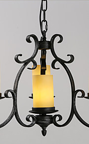 MAX 40W Retro Mini Estilo Pintura Metal Lámparas ColgantesSala de estar / Dormitorio / Comedor / Habitación de estudio/Oficina /