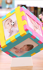 5 inch six cube table photo photo lattice baby photo wall Hanging Type Children Decoration Mercure