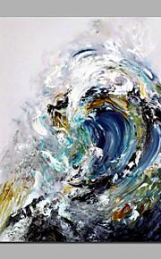 手作りのアクリル絵画stretcheredリビングルームのための海の波の美しい風景夏の絵画のホーム・デコ