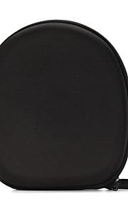 klassieke zwarte uitvoering harde geval opbergtas doos voor sony headset hoofdband oortelefoon hoofdtelefoon
