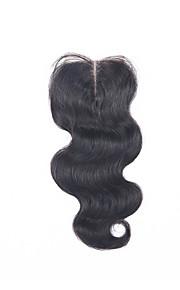 """8 """"-20"""" elin aalto pitsi sulkemiseen Brasilian hiuksista sulkeminen vapaa / miiddle / 3part ei irtoaminen / vyyhti"""