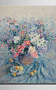 mini e-hjem olje maleri moderne blomster og frukt på bordet ren hånd trekke rammeløs dekormaling