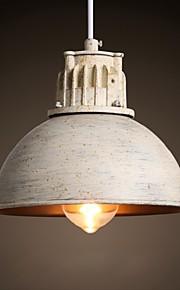 40W-60W Campestre Los diseñadores Pintura Metal Lámparas ColgantesSala de estar / Dormitorio / Comedor / Cocina / Habitación de