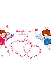 Wall Stickers Wall Decals Style Little Angel PVC Wall Stickers