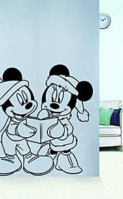 Animais / Desenho Animado / Romance / 3D Wall Stickers Autocolantes de Aviões para Parede,vinyl 56*54.5cm