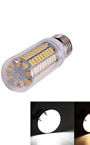 Ampoules Maïs LED Décorative Blanc Chaud / Blanc Froid YouOKLight 1 pièce T E26/E27 5W 99 SMD 5730 350 lm AC 100-240 / AC 110-130 V