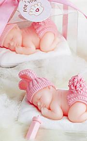 Baby Shower de bébé Laine Bougie (plus de couleurs)
