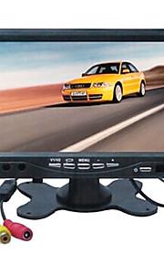 7 inch 800 * 480 TFT-LCD auto achteruitkijkspiegel-monitor met voet achteruit back-up camera van hoge kwaliteit.