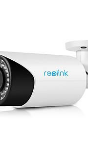 reolink®rlc-411s 4x optische gemotoriseerde zoom met ingebouwde 16GB Micro SD-kaart buiten waterdicht bullet ip camera
