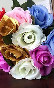 Knit Wedding Decorations-1Piece/Set Artificial Flower Wedding Garden Theme White / Red / Lilac / Pink / Blue / Gold