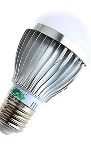 5W E26/E27 Ampoules Globe LED A60(A19) 10 SMD 5730 480lumens lm Blanc Chaud / Blanc Naturel Décorative AC 85-265 V 1 pièce