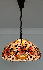 Max 60W מנורות תלויות ,  Tiffany אחרים מאפיין for סגנון קטן מתכתחדר שינה / חדר אוכל / מטבח / חדר עבודה / משרד / כניסה / חדר משחקים /