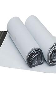 לבן מעובה שקית אריזה ולוגיסטיקה עמידה למים (25 * 39cm, 100 / חבילה)