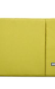 pofoko® 11/13/15/17 inch waterdichte Oxford stof laptop sleeve blauw / roze / zwart / kaki / groen