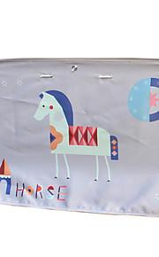 70 * 50 textiel auto gordijnen zon beschermer paard