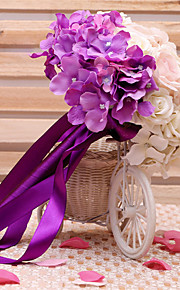 Wedding Flowers Round / Free-form Roses / Lilies Bouquets