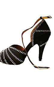 Sapatos de Dança(Preto) -Feminino-Não Personalizável-Latina / Salsa