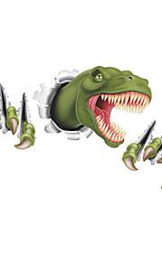 Животные / Мультипликация / Романтика / Мода / Праздник / Пейзаж / Геометрия / фантазия / 3D Наклейки 3D наклейки,PVC87cm x 46cm( 34in x