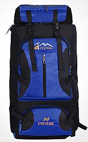 90 L Mochila / Paquetes de Mochilas de Camping / Mochilas para Laptops / Organizador de Viaje / mochilaAcampada y Senderismo / Escalar /