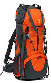 70L L Paquetes de Mochilas de Camping Acampada y Senderismo / Pesca / Escalar / Cacería / Viaje / Emergencia / Ciclismo Al Aire Libre