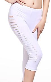 Belly Dance Bottoms Women's Training Modal Draped 1 Piece Black / White