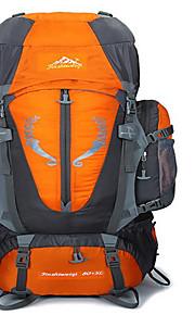 80 L mochila / Mochila Acampada y Senderismo / Escalar / Viaje Al Aire LibreImpermeable / Aislamiento de la cabeza / Antideslizante /