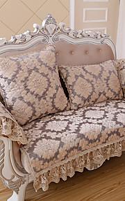 européen sofa matelassé couverture classique de haute qualité chenille accoudoir canapé serviette antidérapante canapé en tissu coussin