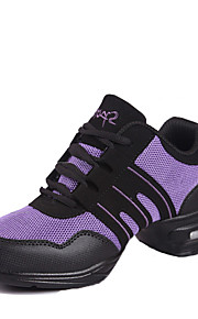 Sapatos de Dança(Rosa / Roxo / Vermelho / Cinza / Dourado) -Feminino-Não Personalizável-Tênis de Dança / Moderna