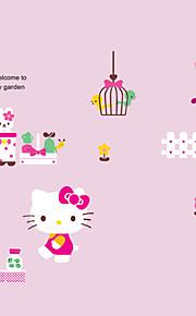 Животные / ботанический / Мультипликация / Слова и фразы / Натюрморт / Мода / Цветы / Отдых Наклейки Простые наклейки,PVC 90*60*0.1