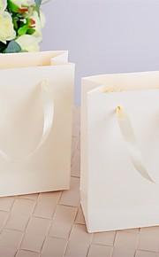 Ivory Handbag Design Wedding Favor Bags