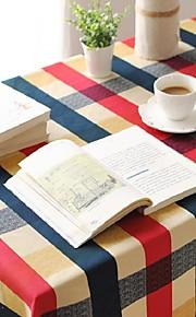 plaid patroon tafelkleed mode hotsale hoogwaardige katoen vierkante salontafel hoes van textiel handdoek