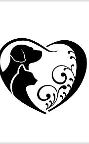 Animales / Romance / Fantasía Pegatinas de pared Calcomanías de Aviones para Pared,vinyl 22.44inch*26.38inch