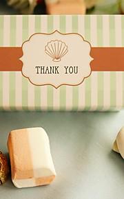 Seashells Wedding Favor Box, Party Candy Box (12pcs/bag)
