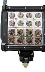 1stk engineering lastbil LED lys bar 6 '' 80W fire rækker super lyse bulldozer LED lys bar