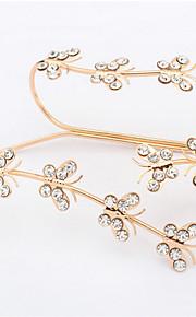 Creative Rhinestone Butterfly Fly Bracelet