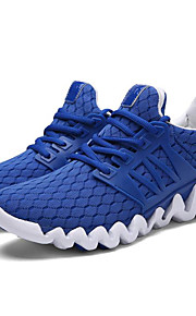 Men's Shoes Tulle Athletic Shoes Running Lace-up Black / Blue / Green