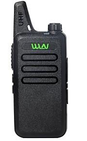 OEM-fabrik KD-C1 Walkie-talkie 2W 16 400-470 mHz 1500mAh 1,5-3 kmNødalarm / Programmerbar med PC software / Stemmekommando / VOX /