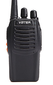 OEM-fabrik VBT-V3 Walkie-talkie ≤5W 16 400-470 mHz 1500MAh 3-5 kmNødalarm / Stemmekommando / VOX / Advarsel om lavt batteri / Timeout