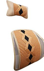 textiel auto rugleuning 2 stuks inclusief hoofdsteun ramdon kleur