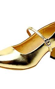 Sapatos de Dança(Preto / Vermelho / Prateado / Dourado) -Feminino-Não Personalizável-Latina / Jazz
