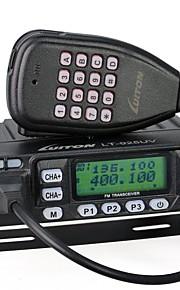 LT-925UV Walkie-talkie 25W 199 Channels 400-470 mHz / 136-174 mHz none 5-10 kmFM-radio / Programmerbar med PC software / Stemmekommando /