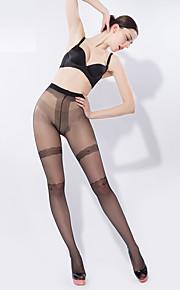 BONAS Women's Solid Color Medium Legging-6520