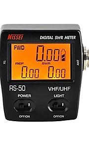 RS-50 digital stålwirer&energimåler 125-525 MHz UHF / vhf for 2 vejs radio