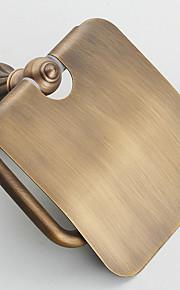 Toalettpappershållare / Borstad / Väggmonterad /20*10*/20 /Mässing /Antik /20 10 0.525