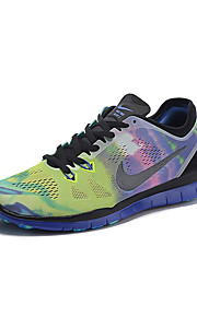 Nike Free TR 5.0  Men's Sneaker Running Shoes Tulle Black / Green / White / Black and White